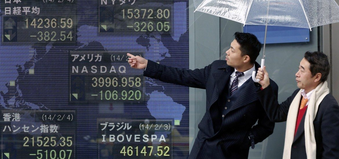 Asian stocks look up